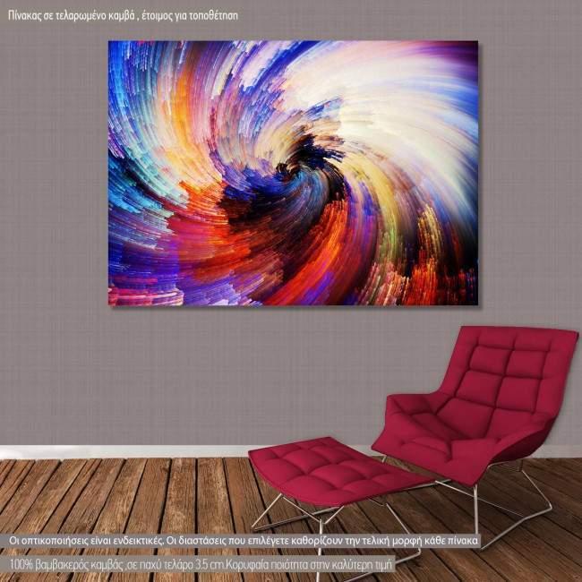 Πίνακας σε καμβά Digital paint texture