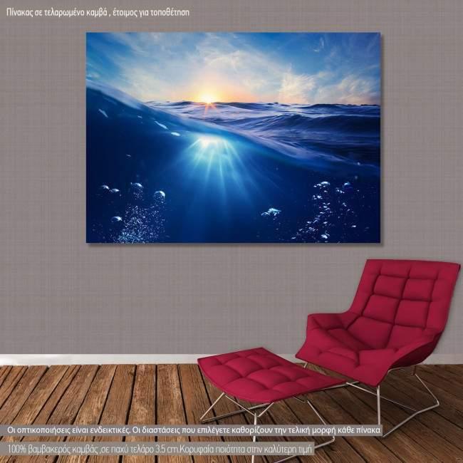 Πίνακας σε καμβά Ωκεανός, Ocean