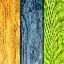 Παραβάν,  Πολύχρωμο ξύλο