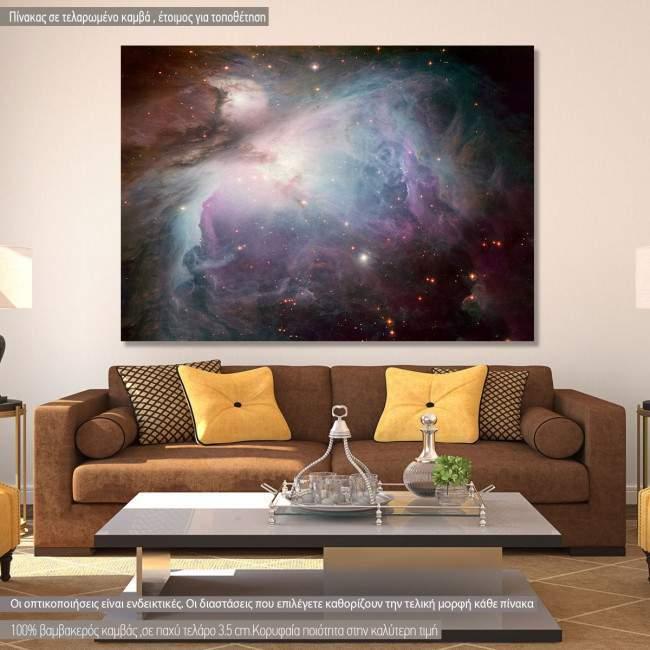 Πίνακας σε καμβά Διάστημα, Cosmos in creation I