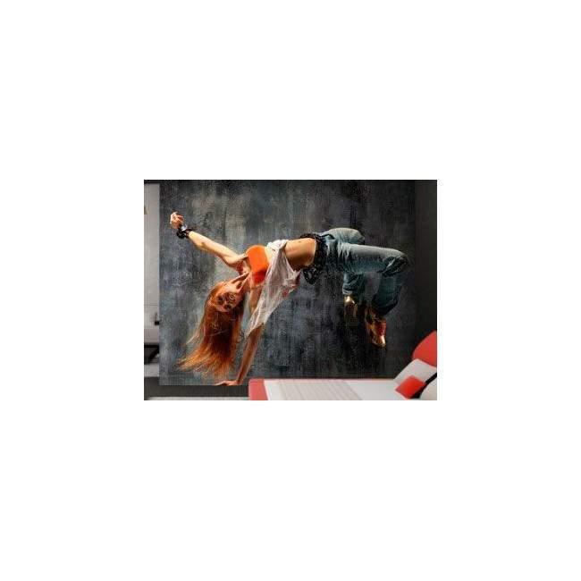 Wallpaper Flying dancer
