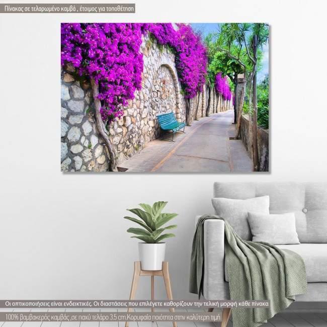 Canvas print Flowers, Vibrant flower