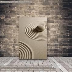 Canvas print Zen stone II