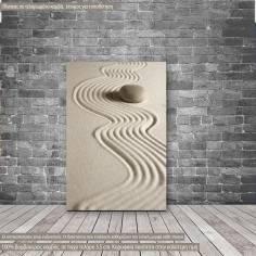 Canvas print Zen stones III