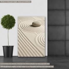Canvas print Zen stones IV
