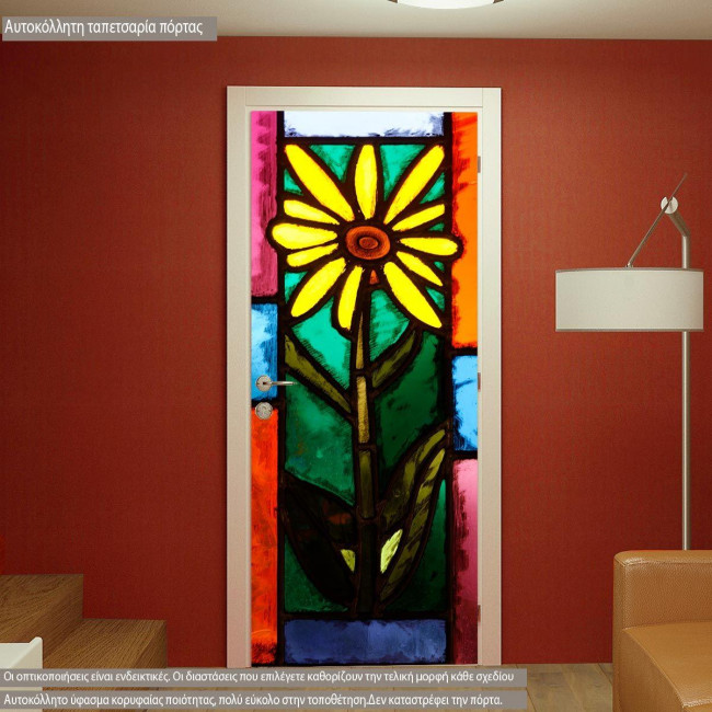 Door sticker Vitraux vitraux