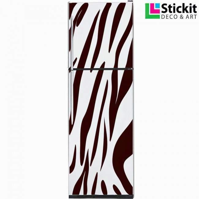 Fridge sticker Tiger pattern