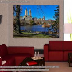 Canvas printNew York, Central park, New York