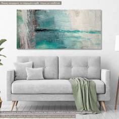 Canvas print Horizon, panoramic