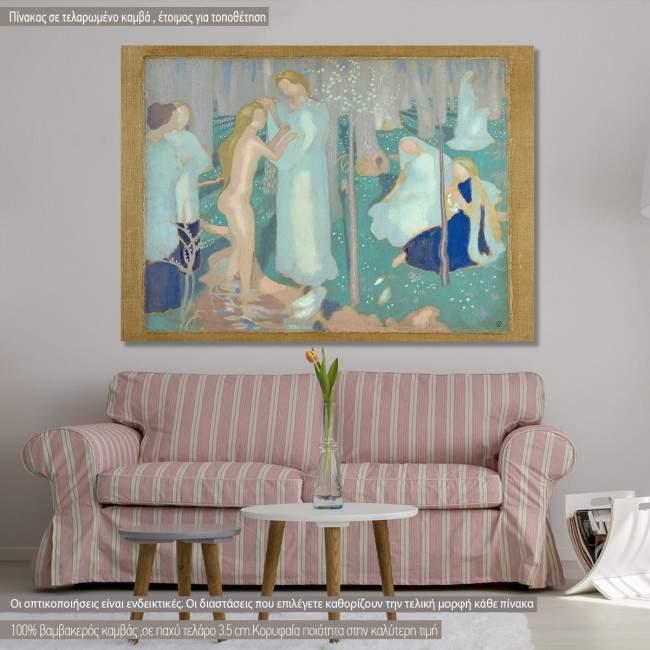 Πίνακας ζωγραφικής Springtime, Denis M., αντίγραφο σε καμβά