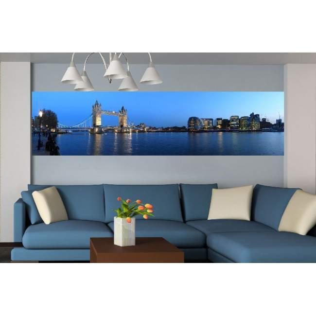 Ταπετσαρία τοίχου Πανόραμα Λονδίνου & tower bridge