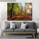 Πίνακας σε καμβά Φθινοπωρινό τοπίο, Autumn landscape