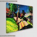 Πίνακας ζωγραφικής, Autumn landscape, Kandisky W., αντίγραφο σε καμβά, κοντινό