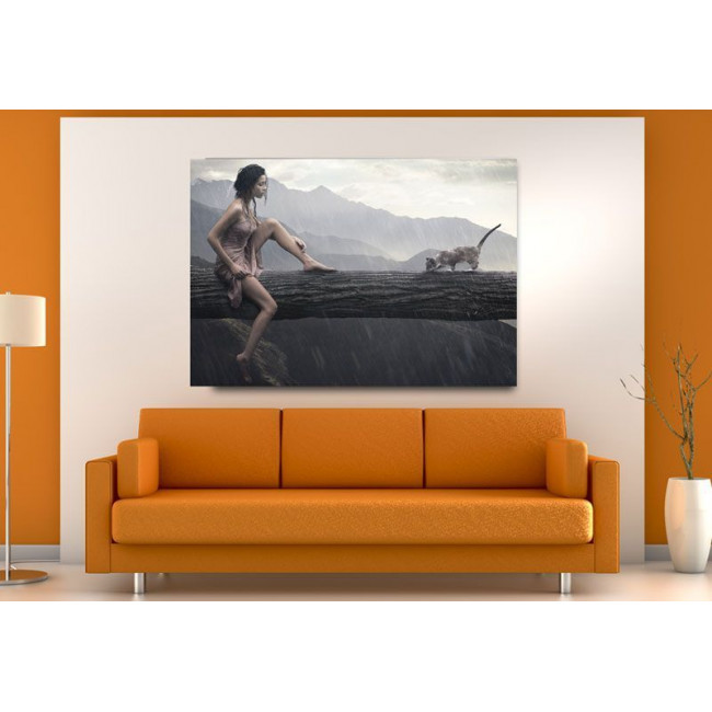 Canvas print Imagination or not?