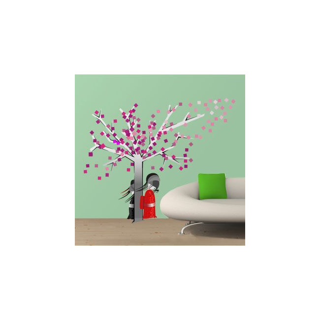 Wall stickers Spring in the East