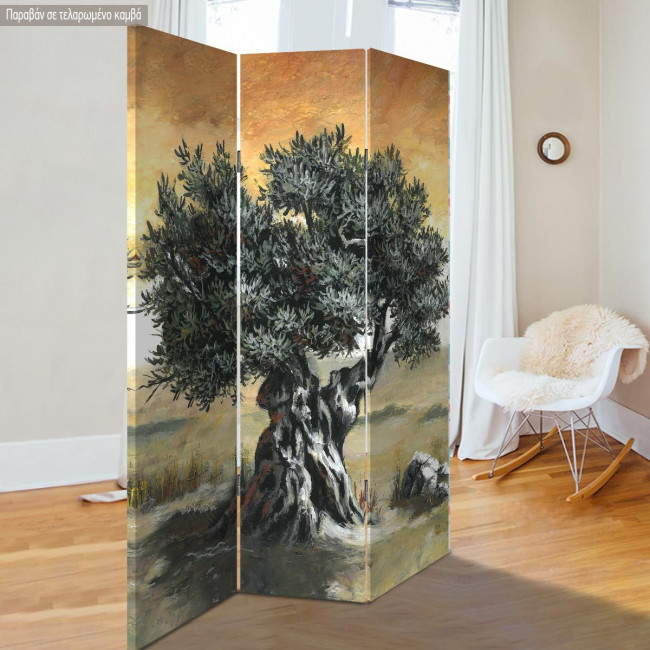 Room divider Olive tree