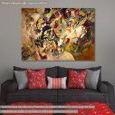 Πίνακας ζωγραφικής Composition VII, Kandinsky W., αντίγραφο σε καμβά