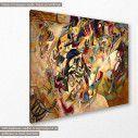 Πίνακας ζωγραφικής, Composition VII, Kandinsky W., αντίγραφο σε καμβά, κοντινό
