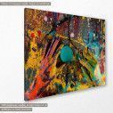 Πίνακας σε καμβά, Color hands, κοντινό