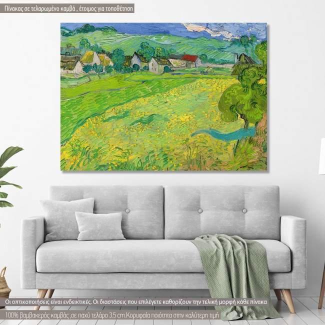 Πίνακας ζωγραφικής Les Vessenots, Vincent van Gogh, αντίγραφο σε καμβά