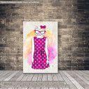 Πίνακας σε καμβά Cat hipster
