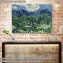 Πίνακας ζωγραφικής Olive trees by V. Van Gogh, αντίγραφο σε καμβά