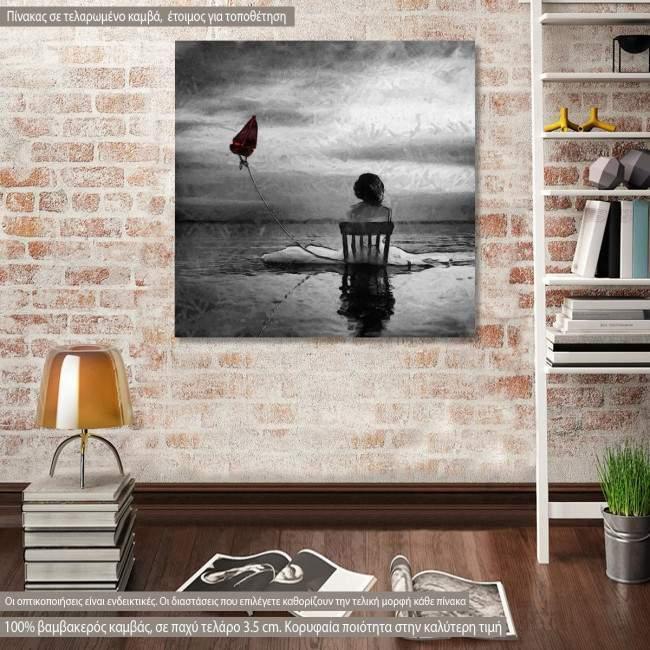 Πίνακας σε καμβά Fly in a dream