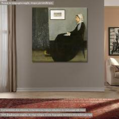 Canvas print  Whistlers mother, Whistler A. McNeill