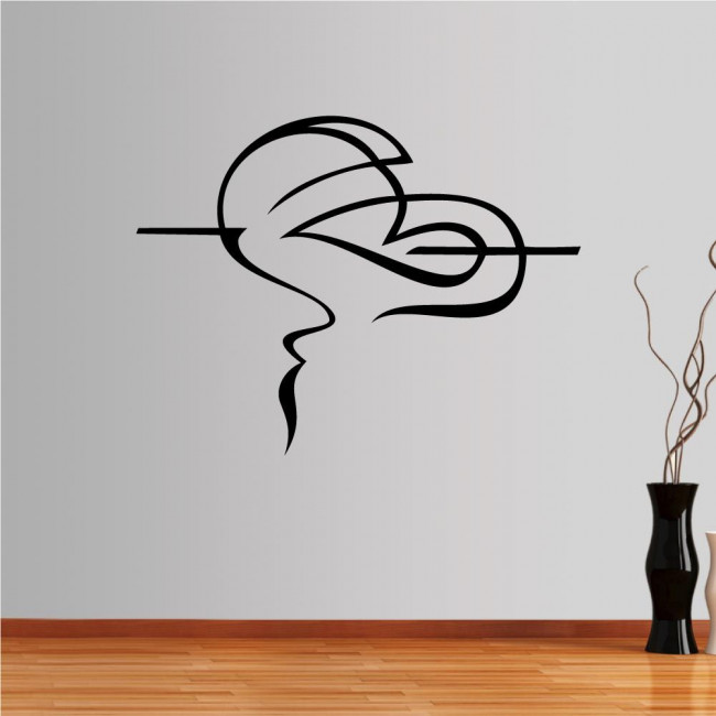 Wall stickers Love Abstract