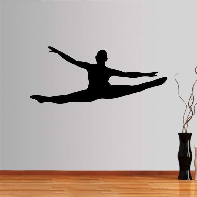 standard Μονόχρωμο 6colors men με επιλογη προσανατολισμου  Αυτοκόλλητο τοίχου Χορευτής