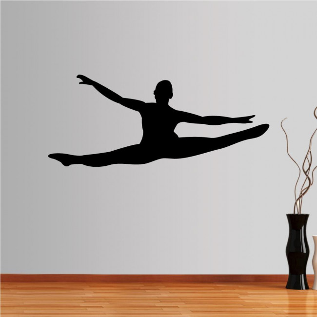 Wall stickers dancer