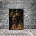 Πίνακας ζωγραφικής  Four seasons in one head, Arcimboldo G, αντίγραφο σε καμβά