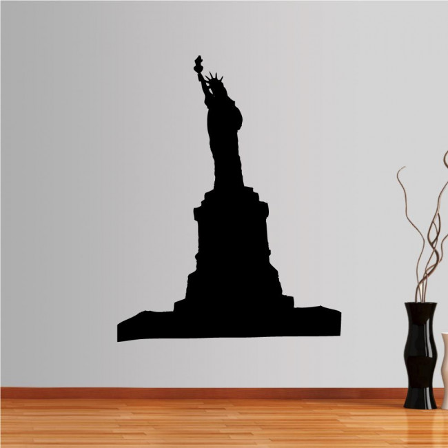 Wall stickers New York, Statue of Liberty, outline