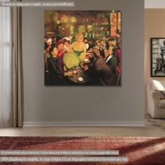 Canvas print  Le Mirliton, Anquetin L