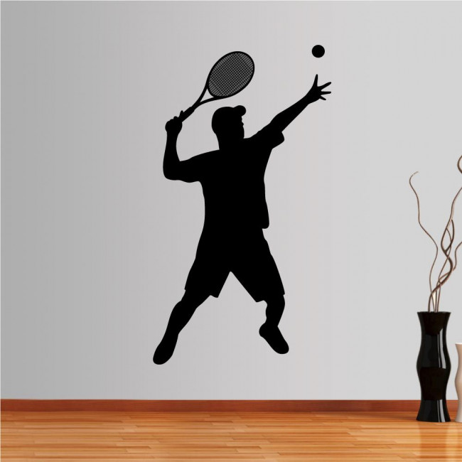 Wall stickers Tennis player