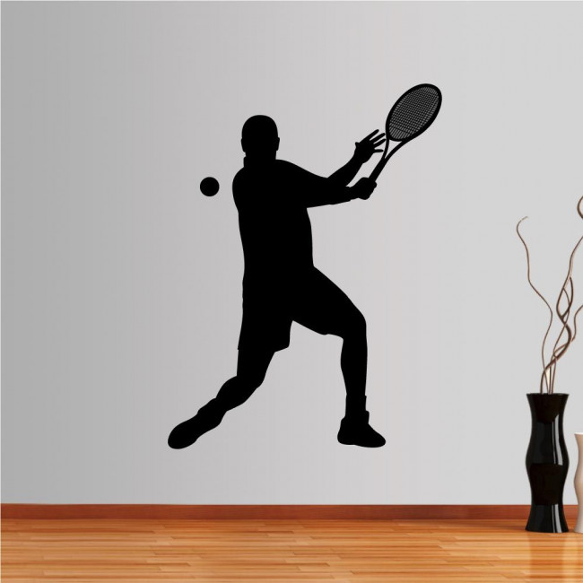 Wall stickers Tennis player I