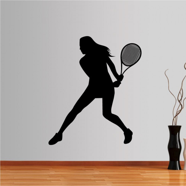 Wall stickers Woman Tennis player