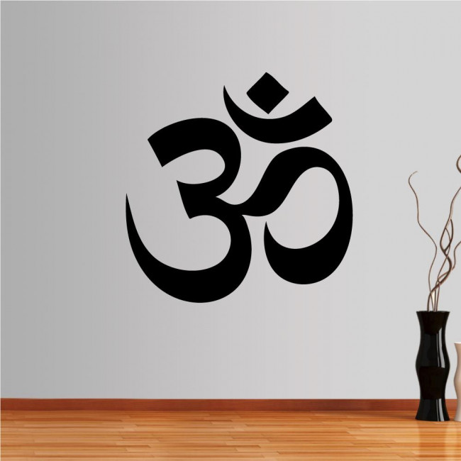 Wall stickers. Aum or Om symbol