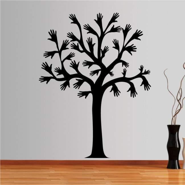 Αυτοκόλλητο τοίχου Δέντρο που χαιρετάει, Greeting tree
