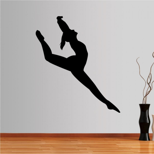 Αυτοκόλλητο τοίχου Χορεύτρια