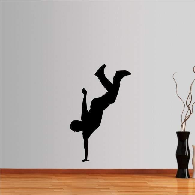Αυτοκόλλητο τοίχου Χορευτής break dance