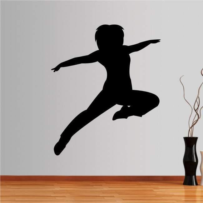 Αυτοκόλλητο τοίχου Χορεύτρια 1