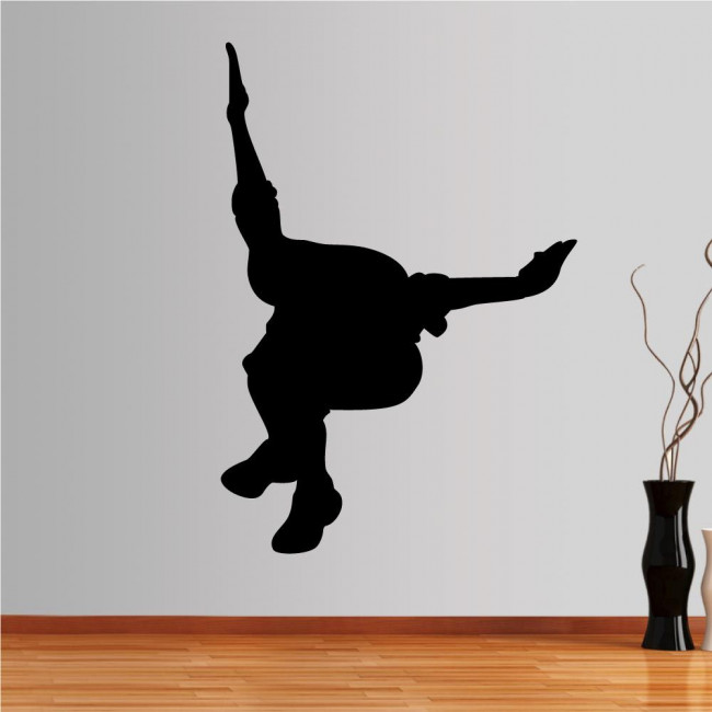 Wall stickers Parkour 4