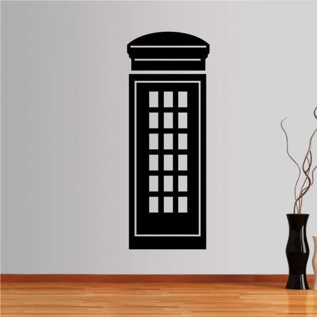 Αυτοκόλλητο τοίχου Αγγλικός τηλεφωνικός θάλαμος