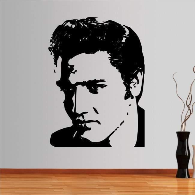 Αυτοκόλλητο τοίχου Elvis Presley 2
