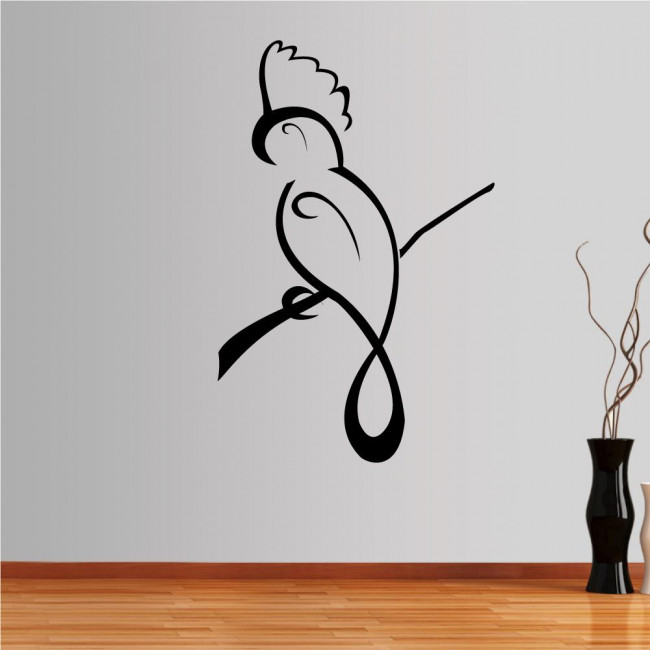 Wall stickers Parrot