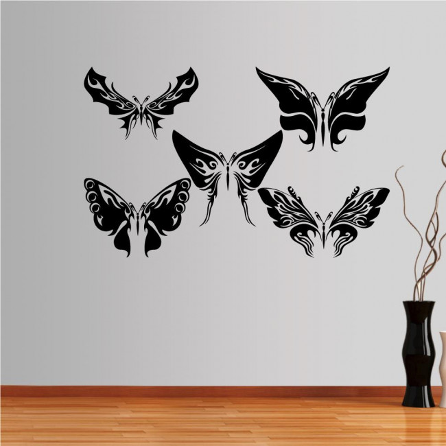 Wall stickers Butterflies, collection