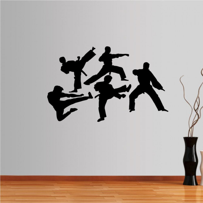 Wall stickers Martial arts collection