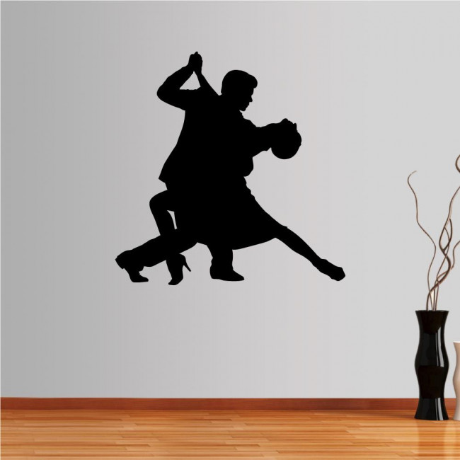 Wall stickers Couple dancers