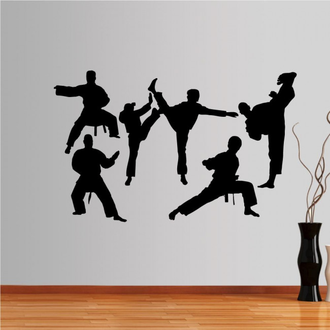 Wall stickers Martial arts collection 2